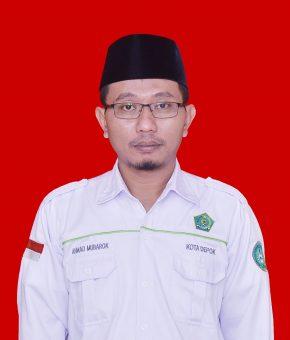 Ahmad Mubarok, SHI.