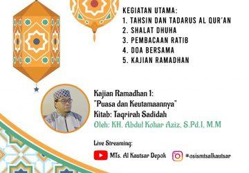 Pesantren Ramadhan MTs Al Kautsar 2021