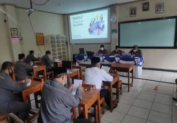 Rapat Evaluasi Pembelajaran Bulan Agustus